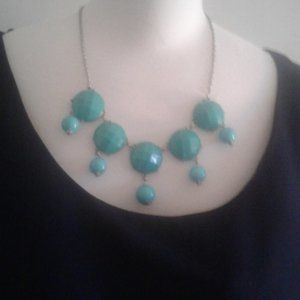 Mint Green Necklace.